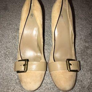 Bakers suede heels. Size 9.
